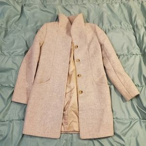 Gray Wool/Cotton Wilfred coat